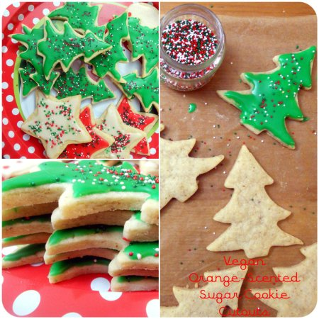 Vegan Sugar Cookie Cutouts