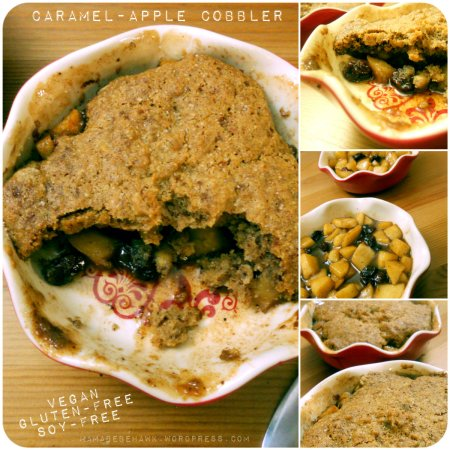 Caramel Apple Cobbler