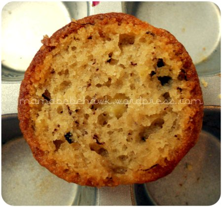 Allergy-free Banana Blueberry Muffins