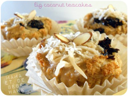 Fig Coconut Teacakes