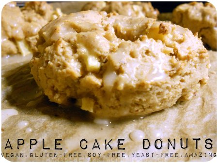 VEGAN GLUTEN-FREE APPLE CAKE DONUTS