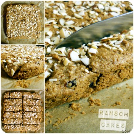 Fruity Tahini Snack Bars