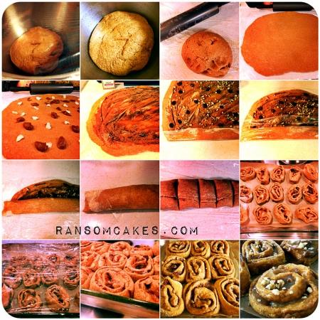 Vegan Spelt Pumpkin Cinnamon Rolls - #wheatfree #soyfree #dairyfree #eggfree